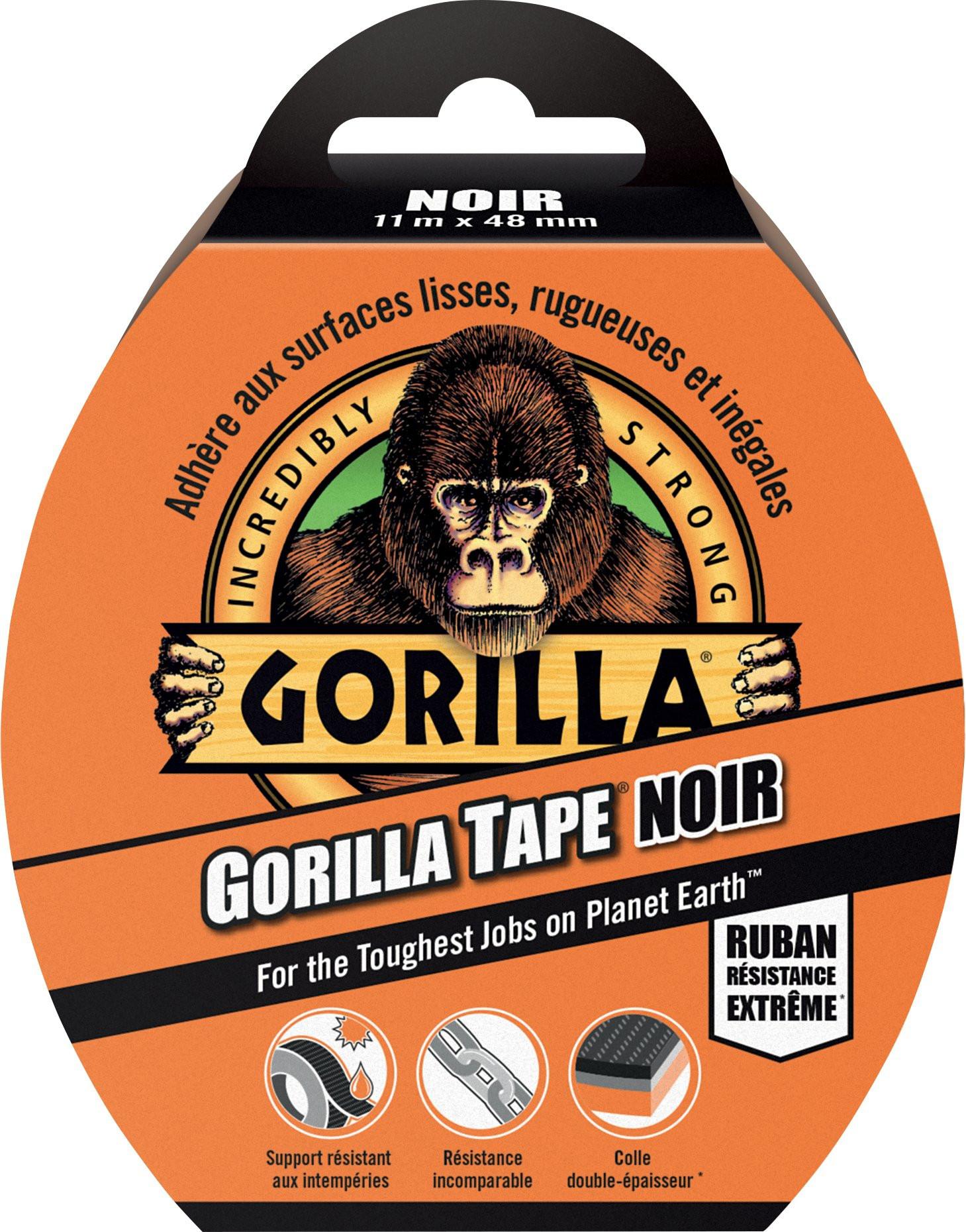 Gorilla Tape Black 11m x 48 mm