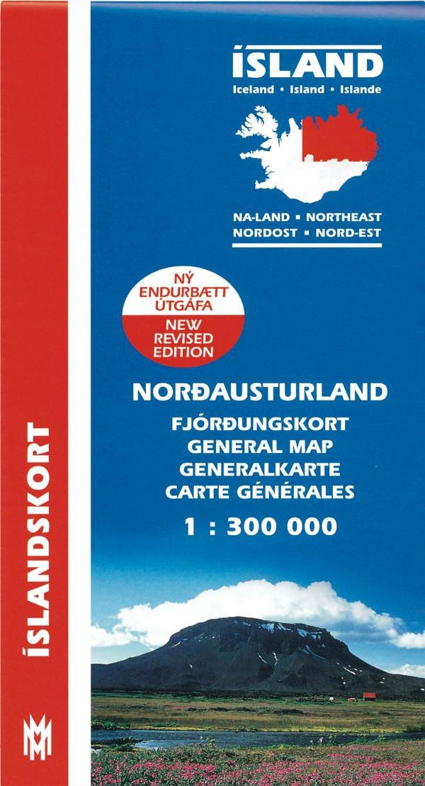 Norð-Austurland 1:300 000
