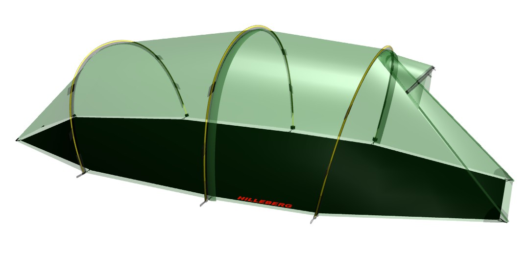 Hilleberg Footprint Nallo 2 GT