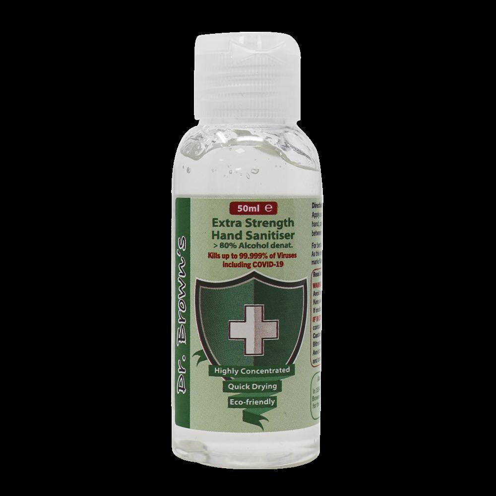 Gel hydroalcoolique Dr. Brown's 50 ml