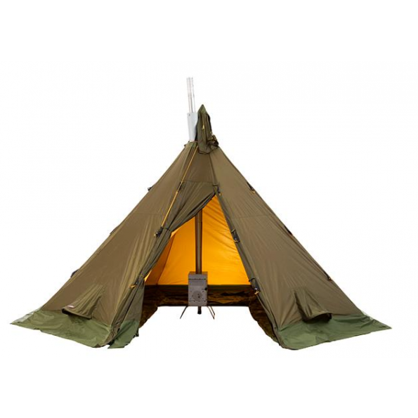 tipi helsport varanger 4 6 personnes lavvu 4 saisons. Black Bedroom Furniture Sets. Home Design Ideas