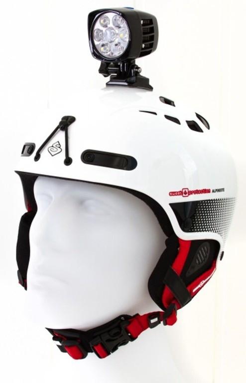 Support casque lampe Moonlight Helmet Mount