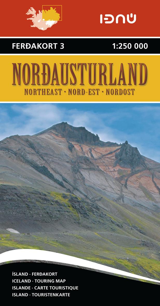 Ferdakort 3 Nordausturland 1:250 000