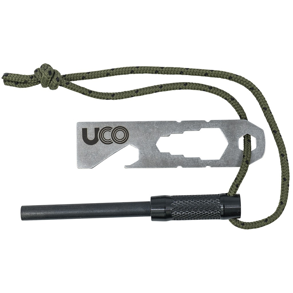 Pierre à feu UCO Survival Fire Striker Ferro Rod