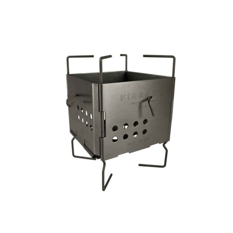 Gen2 Stainless Steel Folding Firebox Nano