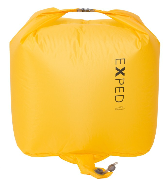 Exped Schnozzel Pumpbag UL L cornyellow