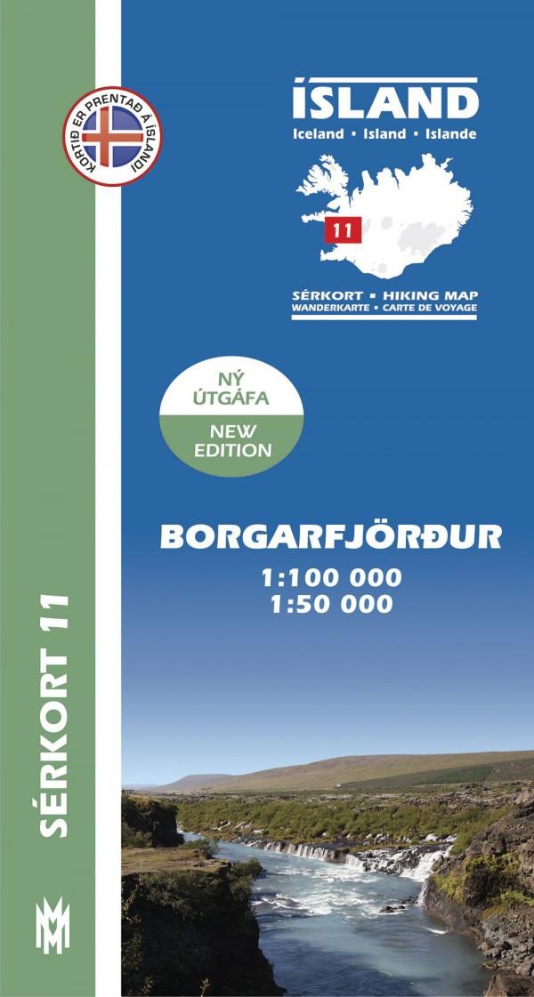 Borgarfjörður 1:100 000 – Sérkort 11