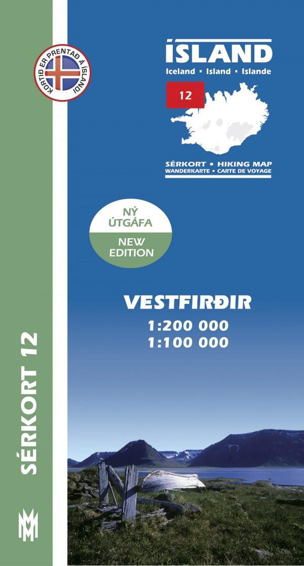 Vestfirðir 1:200 000 – Sérkort 12