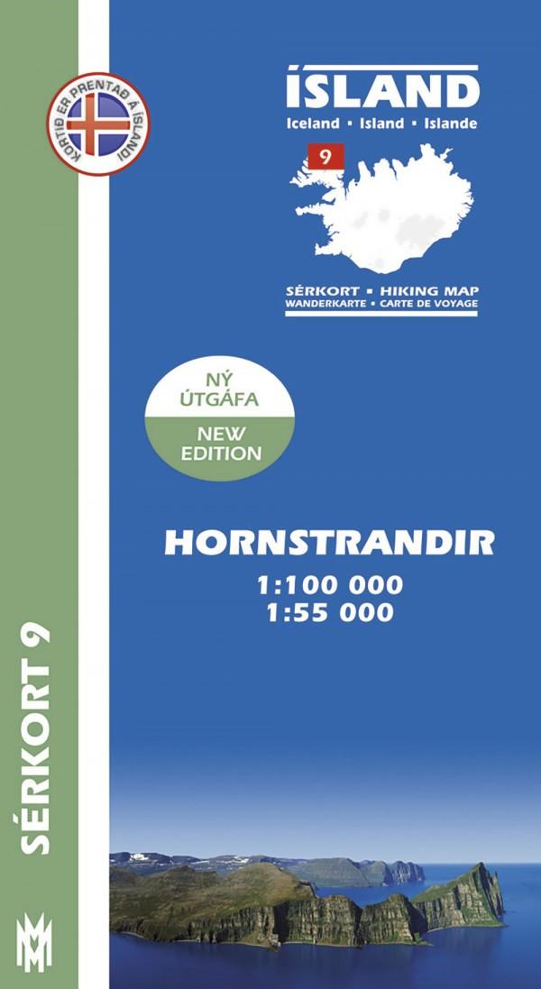 Hornstrandir 1:100 000 – Sérkort 9