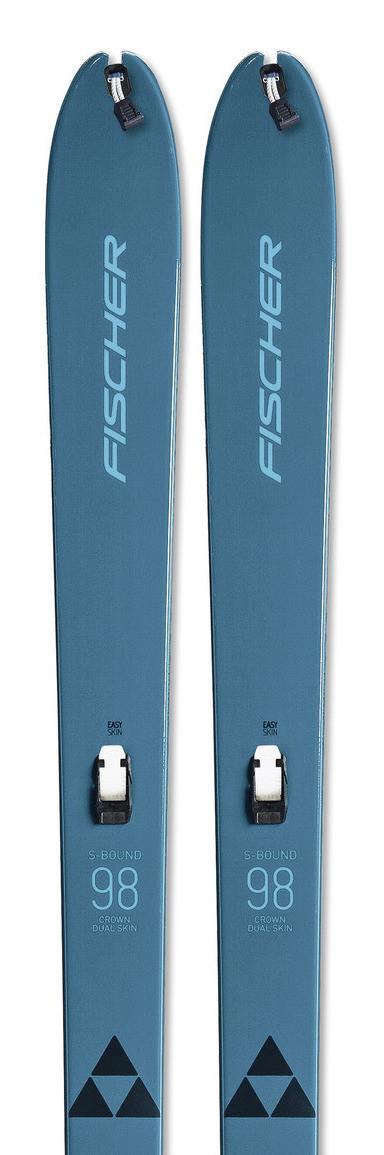Skis Fischer S-Bound 98 Crown/Dual-Skin Xtralite