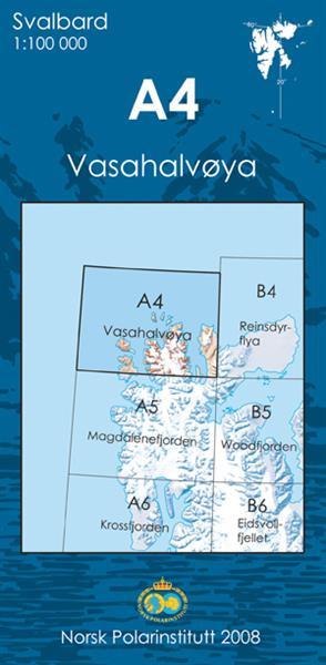 Spitzberg - A4 Vasahalvøya