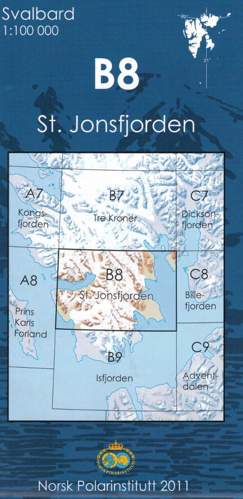 B8 ST. Jonsfjorden - Spitzberg