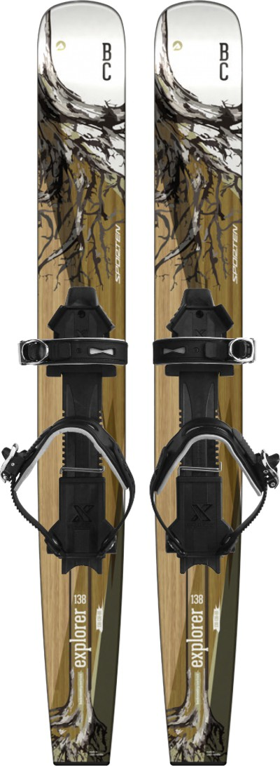 Skis Sporten Explorer 138 + Fixations Outlander