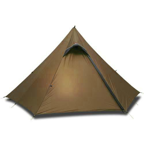 Luxe Outdoor Sil Hexpeak F6a Brown