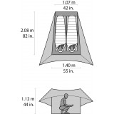 Dimensions Msr Flylite Tent