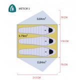 Dimensions Sierra Designs Meteor 3000-3