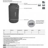 Dimensions Dry Bag PS 10