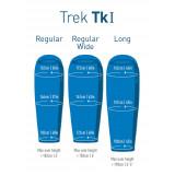 Dimensions Sac de couchage Sea To Summit Trek TKI