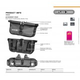 Dimensions Sacoche Ortlieb Accessory-Pack