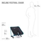 Dimensions Helinox Incline Festival Chair