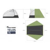 Dimensions Sea To Summit Telos TR2