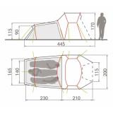 Dimensions Vaude Chapel L XT 3P