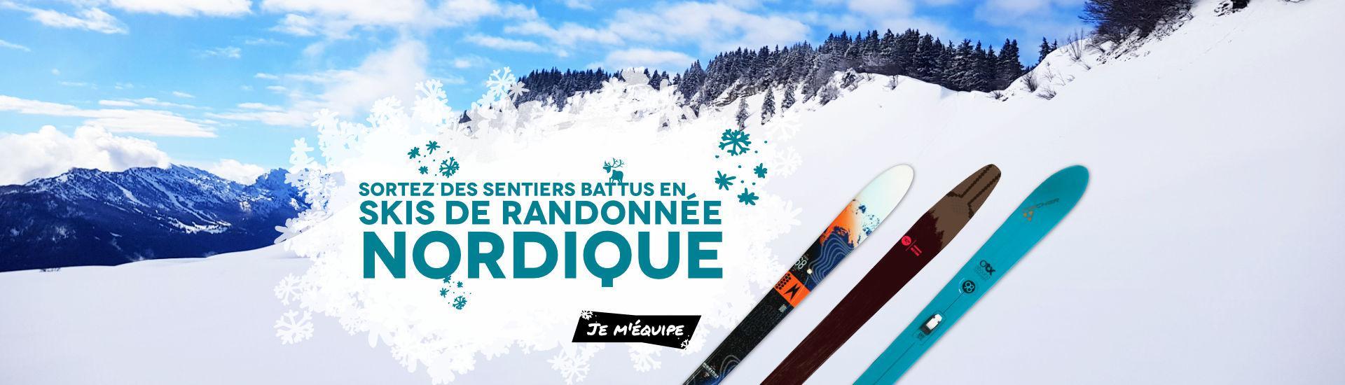 Skis de Randonnée Nordique