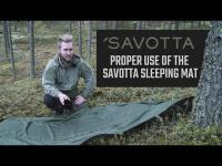 Proper use of the Savotta Sleeping Mat