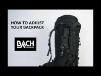 BACH How To Adjust Your Backpack