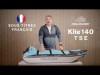 Pulka Fjellpulken Kite 140 TSE (FR)
