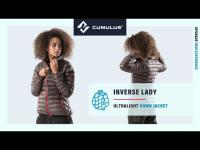 Inverse Lady down jacket by Cumulus