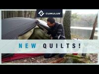 Quilts: an exciting alternative to sleeping bags!
