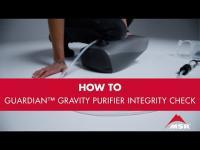 MSR Guardian™ Gravity Water Purifier Integrity Check