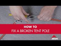 How to Fix a Broken Tent Pole