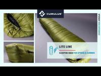 Lite Line down sleeping bag series by Cumulus