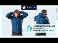 Incredilite Endurance hydrophobic down jacket by Cumulus