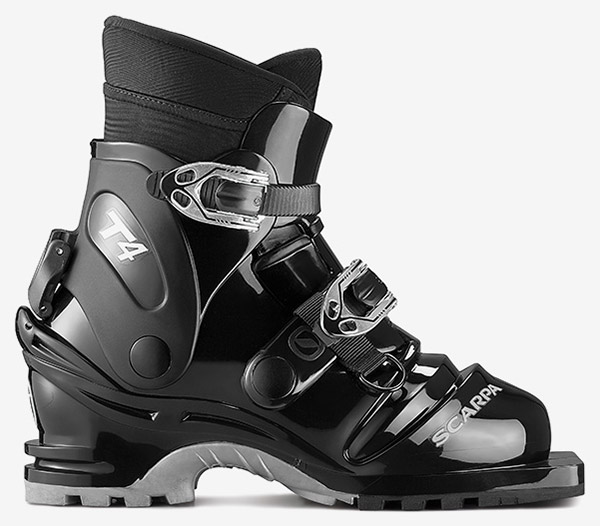Chaussures Scarpa T4 avec chaussons amovibles – Norme 75mm