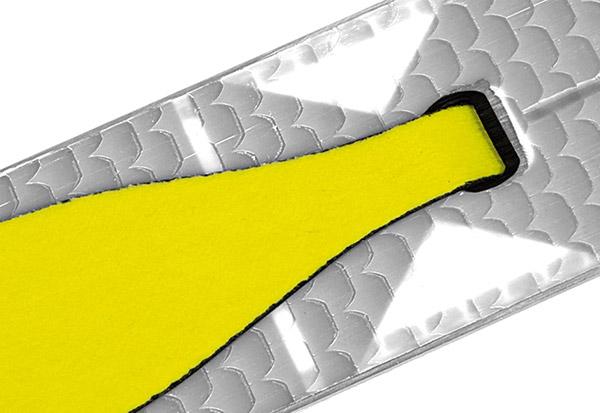 Système de demi-peaux Fischer Easy Skin qui recouvre uniquement la zone des appuis